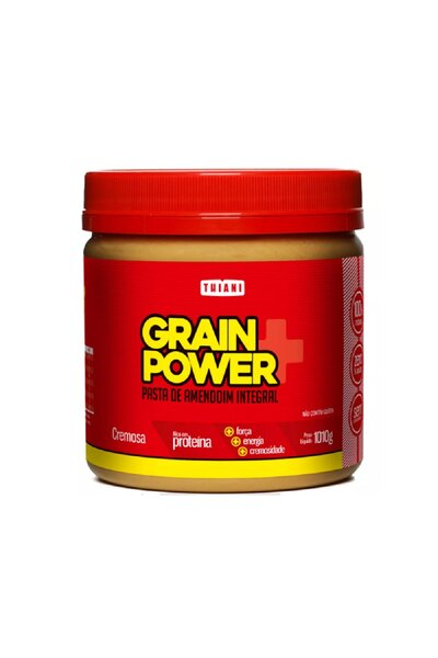 Pasta de Amendoim Integral - Grain Power - Thiani