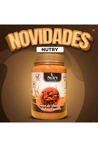 Pasta de Amendoim Nutry 450g