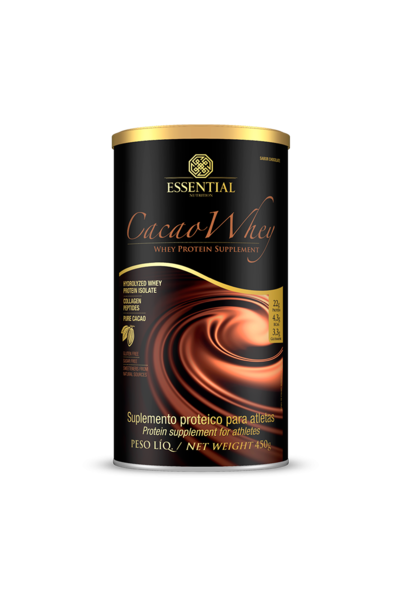 Cacau Whey - 450g - Essential Nutrition