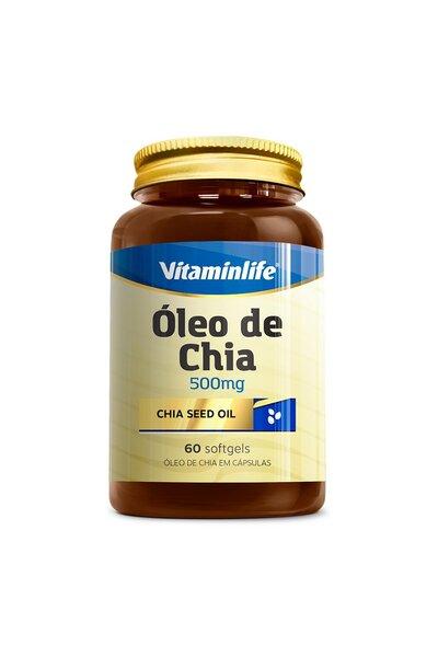 Óleo de Chia (500mg) 60 Capsulas - Vitaminlife