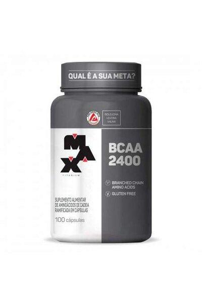 Bcaa 2400 - 100 Capsulas Max Titanium