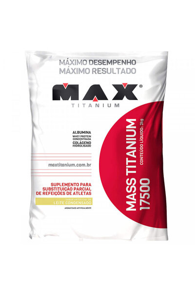 Mass Titanium 17500 - 3Kg - Refil - Max Titanium