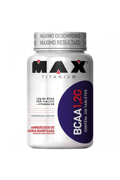 BCAA 1,2 g - 120 capsulas - Max Titanium