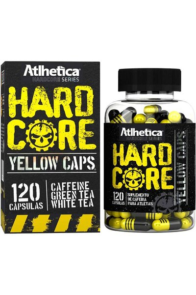 Hardcore Yellow 120Caps ATLHETICA NUTRITION