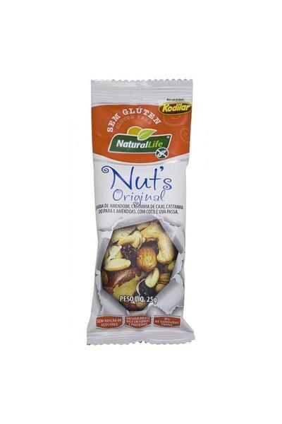 Barra Cereal Nut's Caixa c/24 unidades - Natural Life