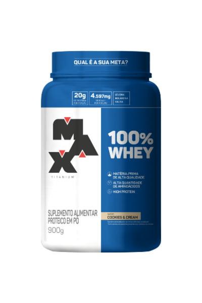 100% Whey 900G - Max Titanium