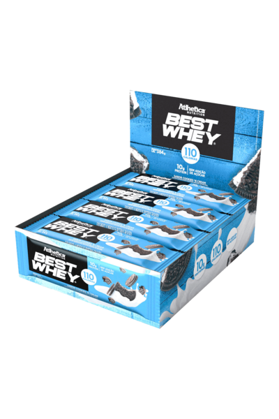 Barra de Proteína Best Whey Bar Atlhetica Nutrition - CX C/ 12