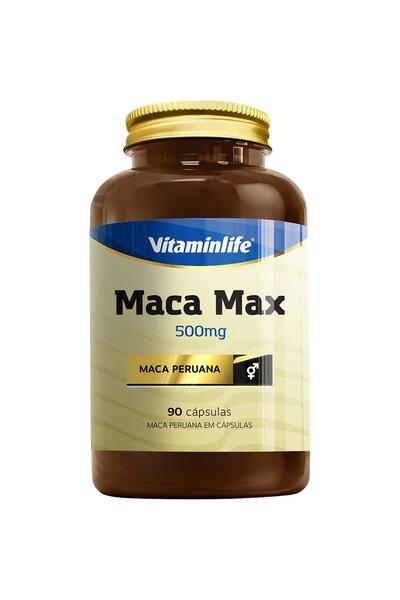 Maca Peruana - Maca Max 500mg 90 Cápsulas
