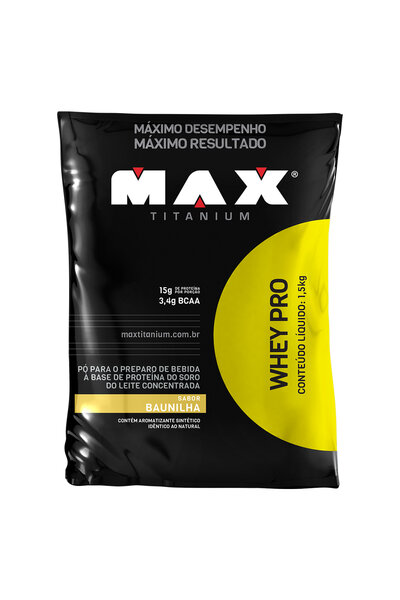 Whey Protein Pro Max Titanium - 1,5 kg