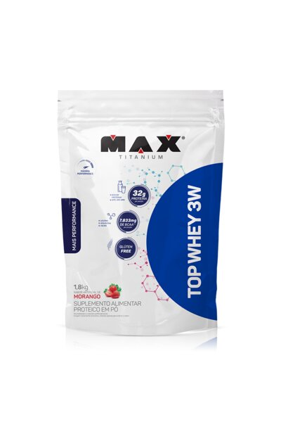 Top Whey 3w 1.8kg Refil Max Titanium
