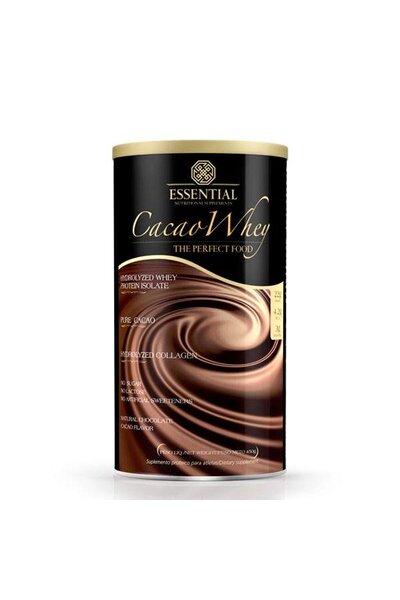 Cacau Whey Lata 450g Essential Nutrition
