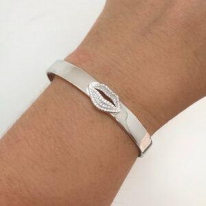Bracelete Beijo Brilhante