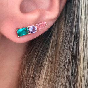 Ear Cuff Três Pedras