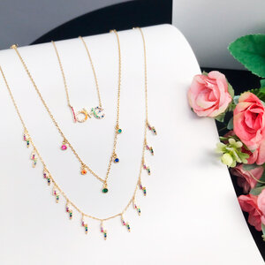 Colar Love Colors Prata 925