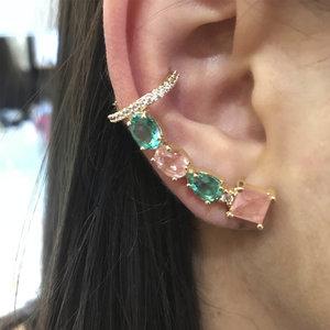Ear Cuff Candy Rainbow