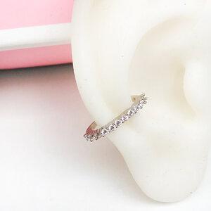 Piercing Ear Hook Delicate Prata 925 (unidade)