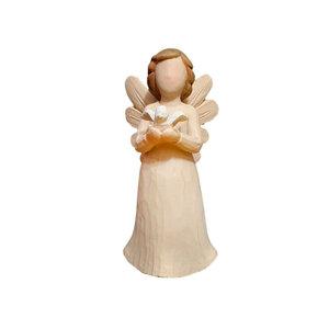 Anjo com Pomba na Mão