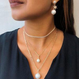 Colar Delicate Pearl