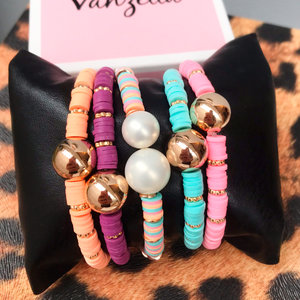 Pulseira Pastilhas Candy Colors