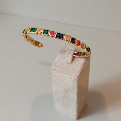 Bracelete Rainbow Forms