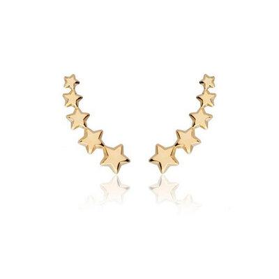 Ear Cuff Estrelas Ouro