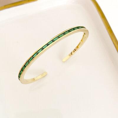 Bracelete Navetes Ouro