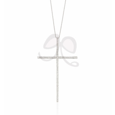 Colar Crucifixo Prata 925