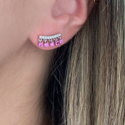 Ear Cuff Mini Penduricalhos