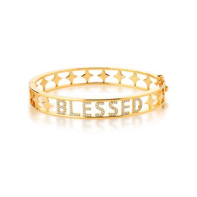 Bracelete Blessed Cravejada