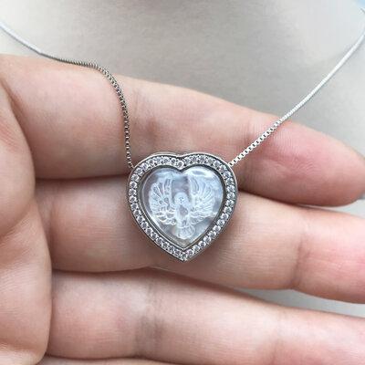 Colar Coração Divino