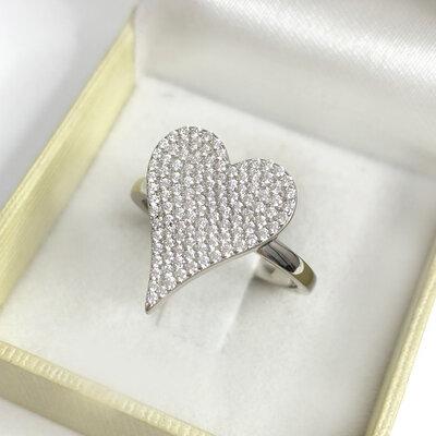 Anel Bright Heart Prata 925