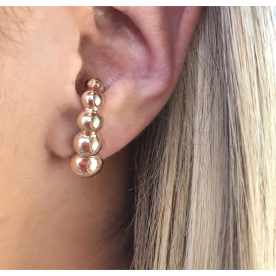 Ear Hook Bolas Crescente