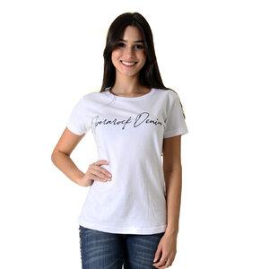 CAMISETA T-SHIRT FEMININO OPERAROCK DENIN