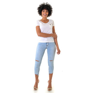 Calça Jeans Feminina Emana Leg Max