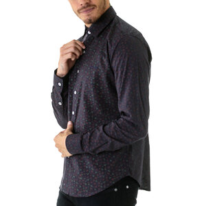 CAMISA MASCULINA NIGHT FLOWER