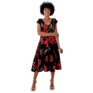 Vestido Giovana Midi Floral OPRK