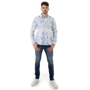 CAMISA MASCULINA TRICOLINE FLORAL