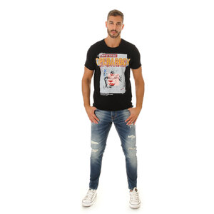 CAMISETA T-SHIRT UNISSEX PUNK ROCK