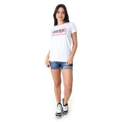 Shorts jeans estone Athleisure Rasgos e Puídos