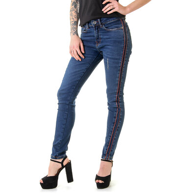 Calça Jeans Feminina Faux Emana Leggings