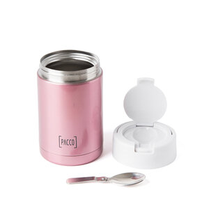Pote Térmico Food Jar 500 ml - Rose
