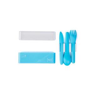 Conjunto de Talheres Easy Set - Azul