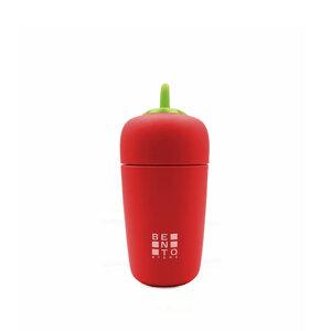 Garrafa Térmica Bento Veggie - Vermelha