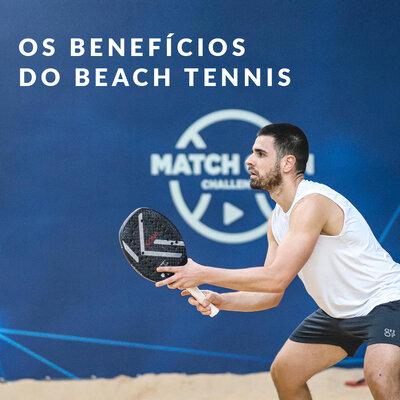 OS BENEFÍCIOS DO BEACH TENNIS