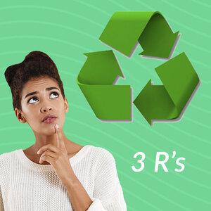 Os 3 R's da Reciclagem
