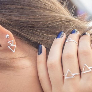 Anel Beshi Triângulo