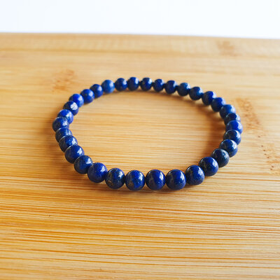 Pulseira Pedra Natural Lapis Lazuli