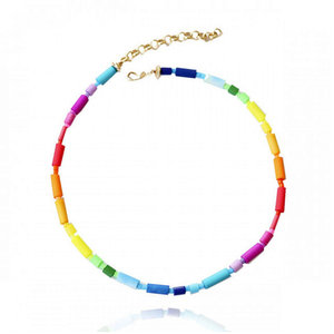 Choker Rainbow Vinil