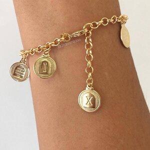 Pulseira 10 Mandamentos Dourada