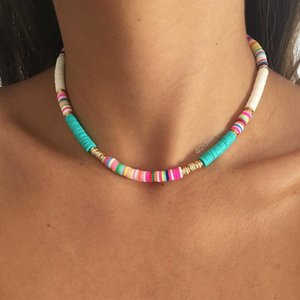 Choker Pastilhas Colors
